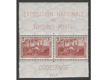 1937, 2Fr Dudelange, MiNr.302, **