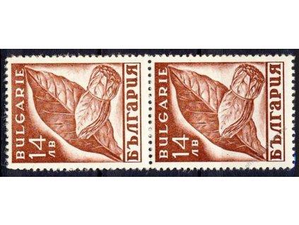 1938, 14L Tabák, 2páska, MiNr.338, **