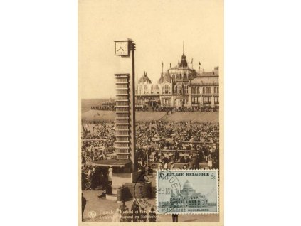 1938, DR Ostende, pohlednice, neprošlé