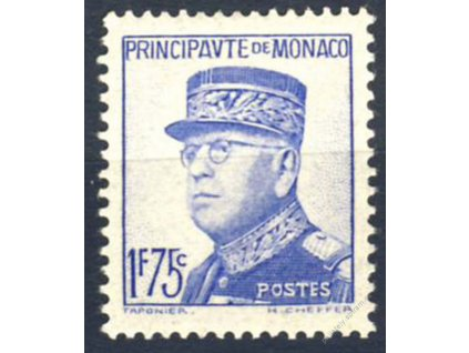 1938, 1.75Fr Louis, MiNr.179, **