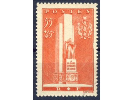 1938, 55C Pomník, MiNr.426, **