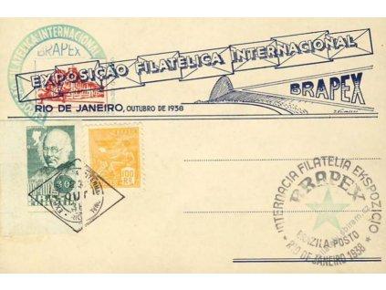 Brasilie, 1938, Rio de Janeiro, Výstava známek