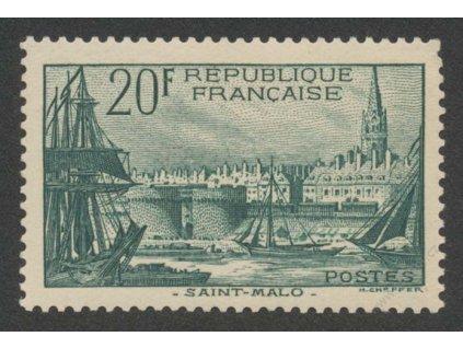 1938, 20Fr Přístav, MiNr.415, **