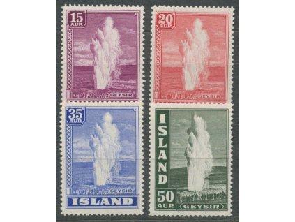 1938, 15-50A série Výjevy, MiNr.193-96, **
