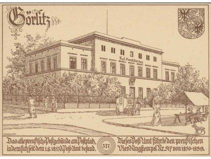 1938, Gorlitz, celinová pohlednice, privátní, neprošlé