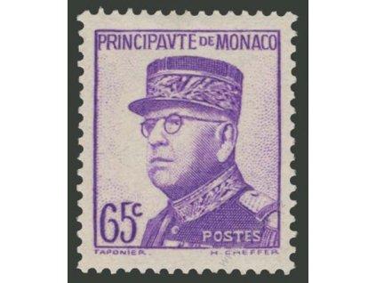 Francouzská, 1938, 65C Louis, MiNr.172, těžší *