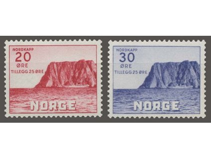 1938, 20-30Q série Nordkap, MiNr.198-99, **