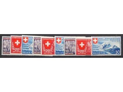 1939, 10-30C Výstavní série, 3 série, * po nálepce