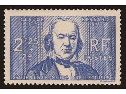 1939, 2.25Fr Bernard, MiNr.453, **
