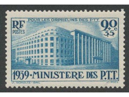 1939, 90C Pošta, MiNr.442, **