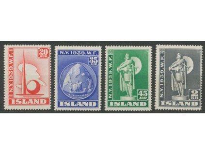 1939, 20A-2Kr série Výstava, MiNr.204-7, **