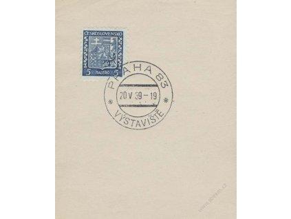 1939, Praha 83 Výstaviště 20.5.1939, výstřižek