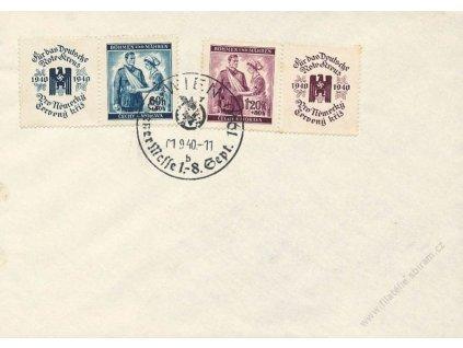 1940, Wien, Wiener Messe, dopis, neprošlé