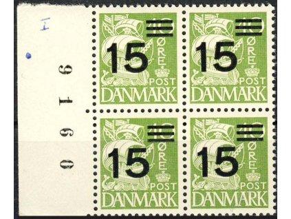 1940, 15Q/40Q Karavela, 4blok, MiNr.255, **