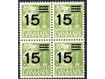 1940, 15Q/40Q Karavela, 4blok, MiNr.255, ** , dv