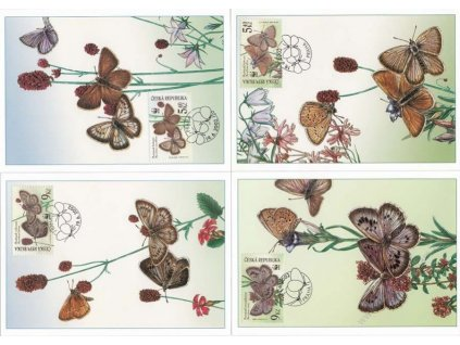 CM 41-44 Ohrožení motýli