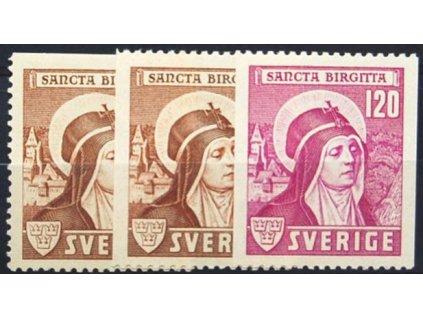 1941, 15-120 Ore série sv. Birgitta, * po nálepce