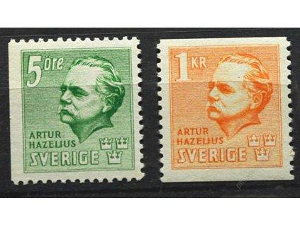 1941, 5 Ore-1Kr série Hazelius, **
