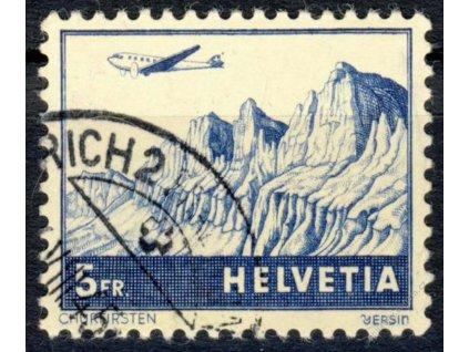 1941, 5Fr letecká, MiNr.394, razítkované