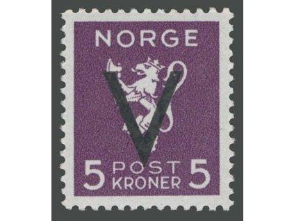 1941, 5Kr Victoria, MiNr.256, **