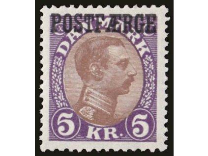 1941, 5Kr POST FAERGE, MiNr.24, * po nálepce