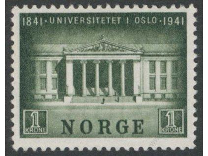 1941, 1Kr Universita v Oslu, MiNr.258, **