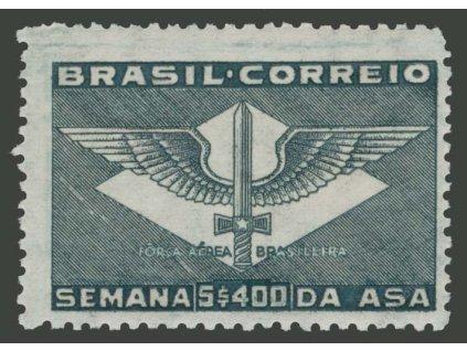 Brasílie, 1941, 5400R letectví, MiNr.553, **