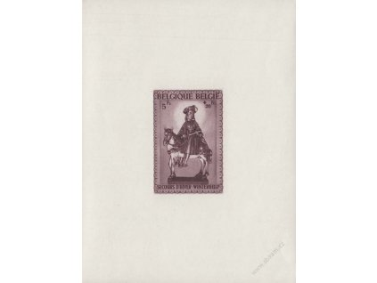 1942, aršík Sankt martin, MiNr.Bl.15, ** , dv