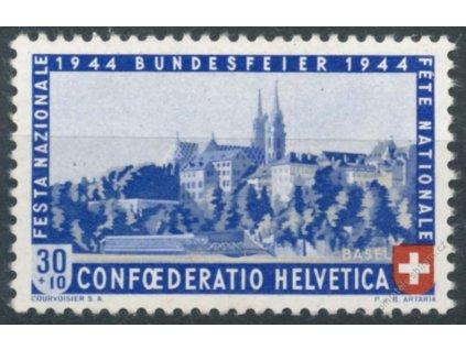 1944, 30C Basel, MiNr.434, **