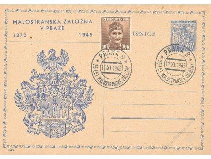 1945, Malostranská záložna v Praze, neprošlé
