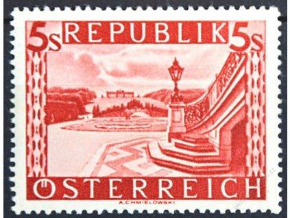 1945, 5S Schonbrunn, Walzendruck, **