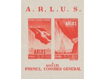 1945, aršík Kongres, MiNr.Bl.28, (*)