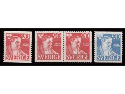 1945, 20-90Ö série Rydberg, MiNr.314-15, ** , dv