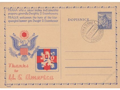 1945, Návštěva generála Eisenhovera v Praze, dv