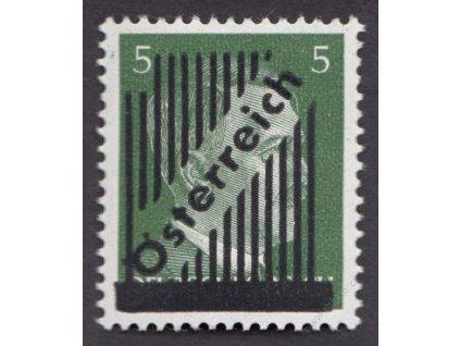1945, 5Pfg Hitler, 14 čar, MiNr.668Ia, **
