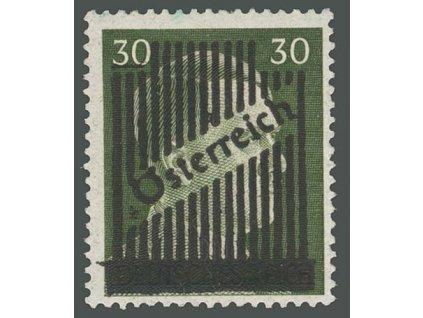1945, 30Pf Hitler s přetiskem, MiNr.672II, **