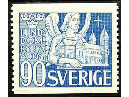 1946, 90Ö Kostel, MiNr.320A, **
