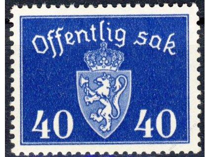 1946, 40Q služební, MiNr.57, **