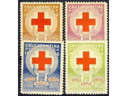 1946, série Červený kříž, **