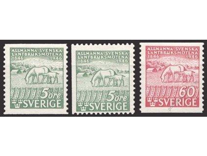 1946, 5-60Ö série, MiNr.321-22, **
