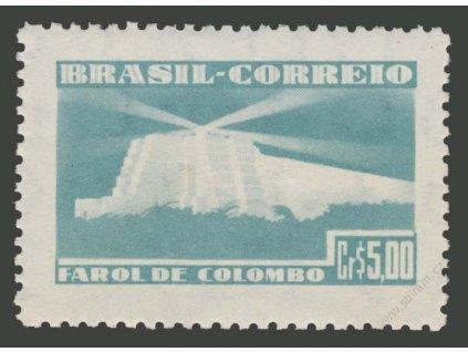 Brasílie, 1946, 5Cr Kolumbusovo mausoleum, **