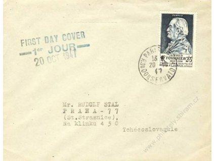 1947, DR Paris, FDC se zn. MiNr.788