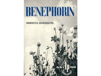 1948, DR Praha, reklama na Benephorin, dv růžek
