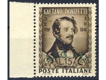 1948, 15L Donizetti, kraj. kus, MiNr.58, **