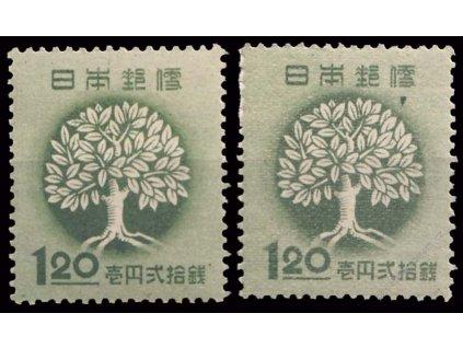 Japonsko, 1948, 1.20Y Strom, DV - klínek, **/*