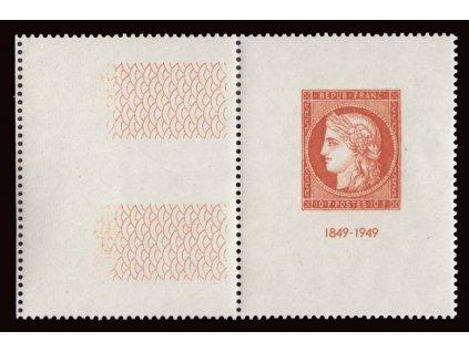 1948, 10Fr aršík CITEX, MiNr.Bl.4, **