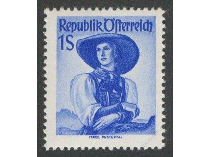 1948, 1S Kroje, MiNr.910, **