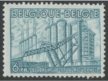 1948, 6Fr Továrna, MiNr.814, ** , dv