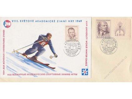 1949, Špindlerův Mlýn, Zimné hry, podlouhlý formát