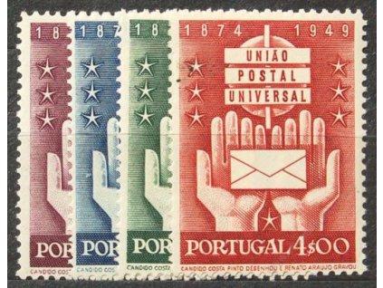 1949, 1-4E série, MiNr.740-43, **